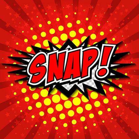 Snap Comic Fumetto, Fumetto Archivio Fotografico - 27867572