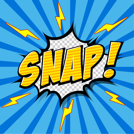 snaps: Snap  Comic Speech Bubble, Cartoon