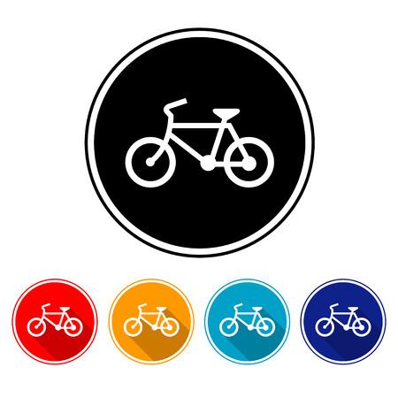 predilection: Sign bicycles  illustrator Illustration