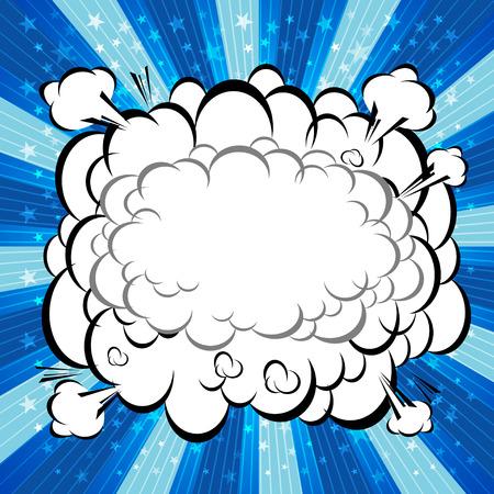 zonk: Comic Speech Bubble, Cartoon  Illustration