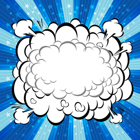 zap: Comic Speech Bubble, Cartoon  Illustration