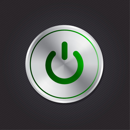 green power: Green Power Button