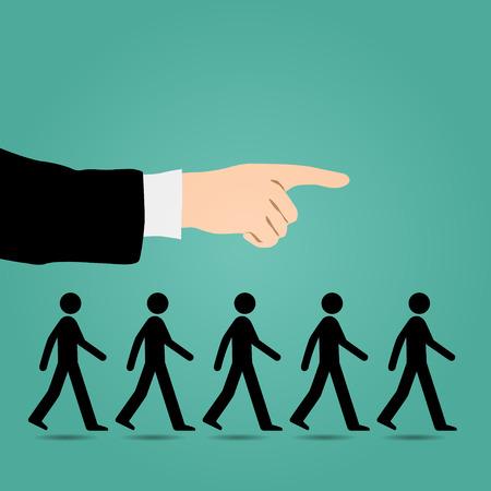 aspirant: Cues walk forward