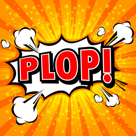 vectorrn: Plop! Comic Expression Vector Text