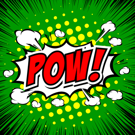 biff: Pow! - Comic Speech Bubble, Cartoon