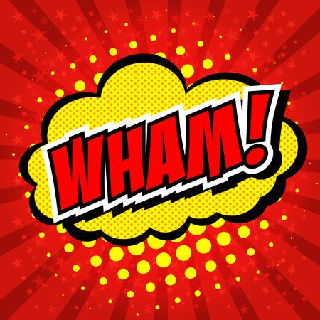 zonk: Wham! - Comic Speech Bubble, Cartoon