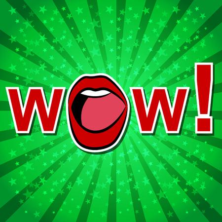 zonk: Wow! Comic Speech Bubble, Cartoon