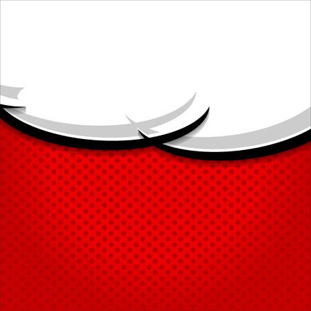 lichtenstein: Speech Bubble Pop-Art Style.