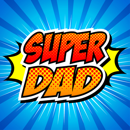 cape: Happy Father Day Super Hero Dad