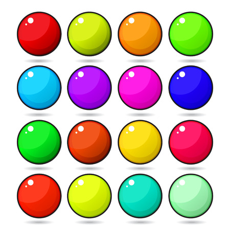 chocolate candy: Candy Gumball. Illustration