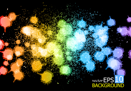 spay: Ink Spay Vector Backgrounds.
