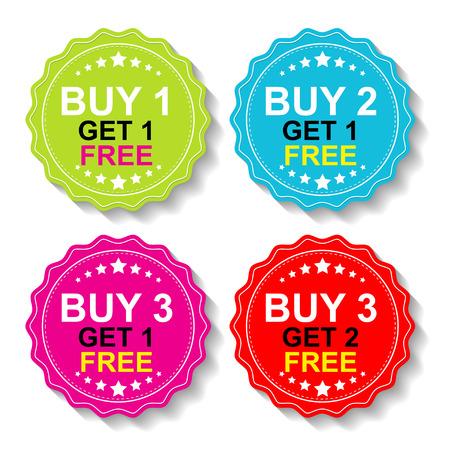 grand sale sticker: Sticker or Label For Marketing Campaign.
