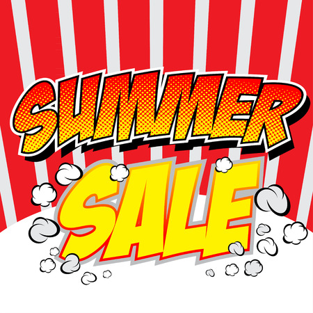 Summer Sale collection. Vector