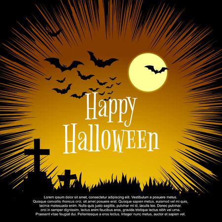 of helloween: Graphics card for Halloween.