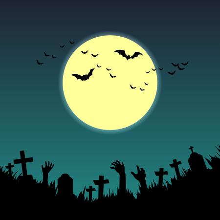 helloween: Halloween card. Illustration