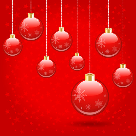The balls event have a spherical pattern Hanging ornaments on the Christmas and New Year festival.