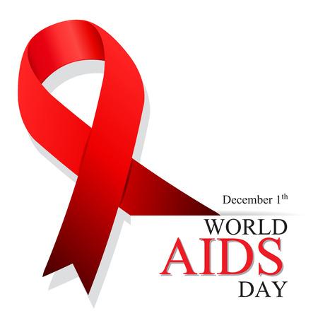 World AIDS Day. 1st December World Aids Day.