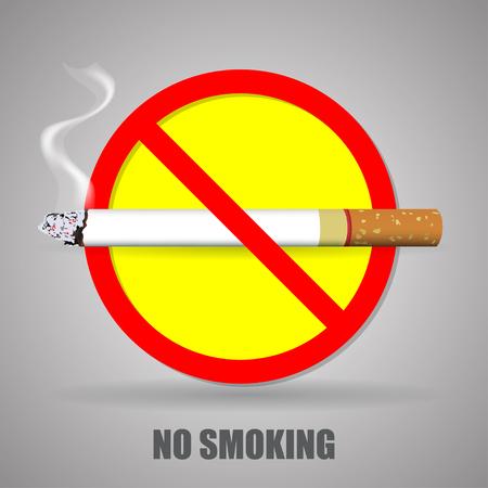 abstain: no smoking sign.