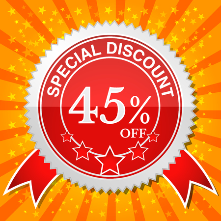 Special Discount 45% Off