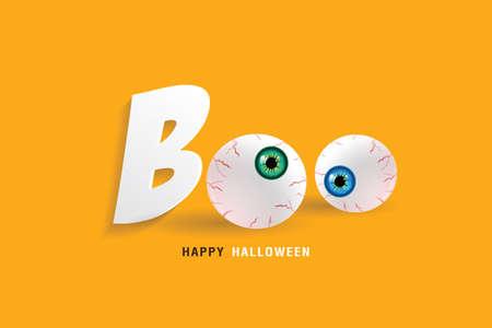 Happy Halloween. illustration vector design. Ilustração