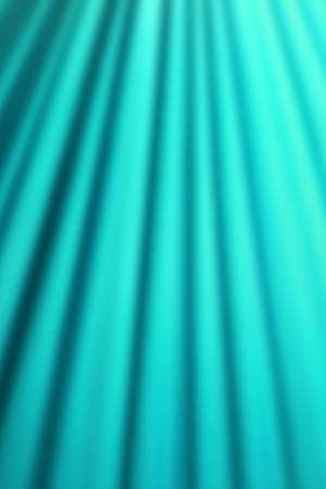 cyan: Cyan curtain blurry background Stock Photo