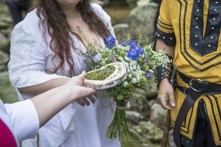 viking wedding, pair shooting, celtic wedding, non-traditional ceremony, the best photo