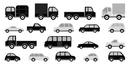 spedition: Cars collection Illustration