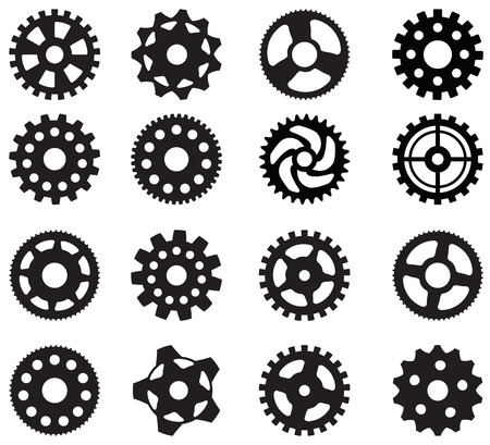 sprocket: Tooth wheels  black