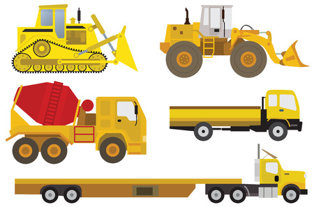 toy truck: Vehicles Illustration