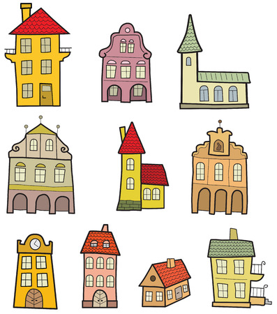 simple house: Colorful Houses