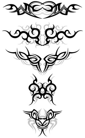 Tattoo symbols Vector