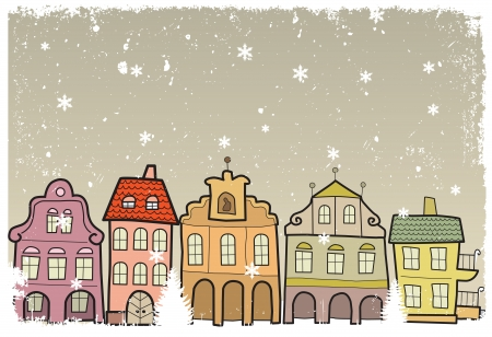 Town in Winter