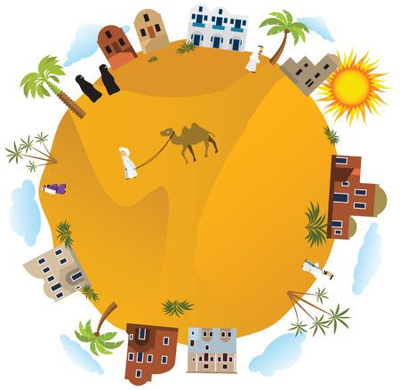 Around the world Arabia