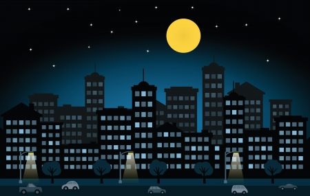 sleeping car: Night city