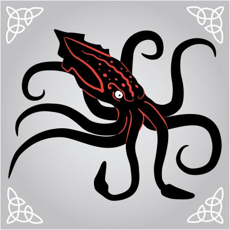 Octopus  Kraken  Vector
