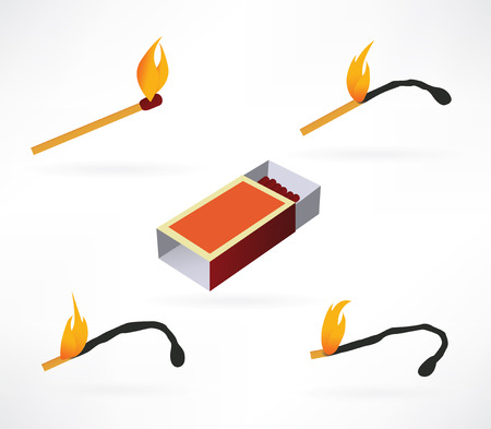 matchstick: Vector matches