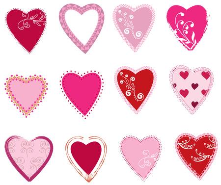 Heart set 1 Vector