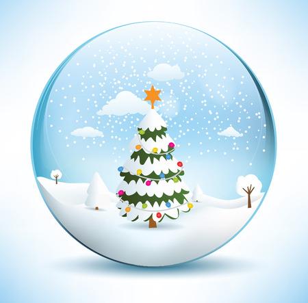 Christmas sphere - tree