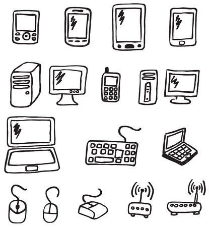 electronic device: Icons - electronics