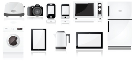 electronic devices: Electrical appliances symbols