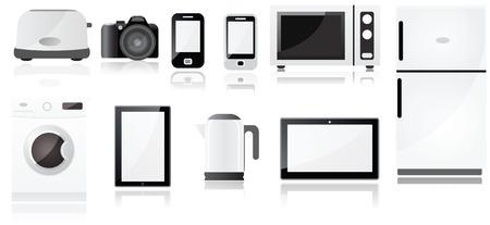 Elektrogeräte Symbole