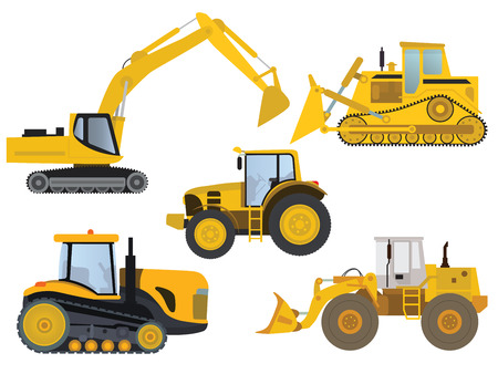 heavy construction: Heavy machinery