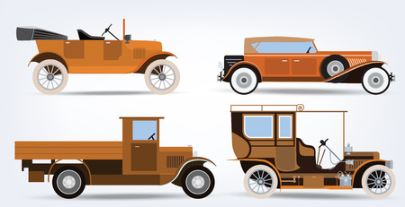yellow car: Classic cars