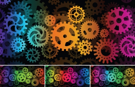 sprocket: Inside the machine  abstract picture  Illustration