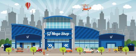 centro comercial: Ir de compras en la ciudad