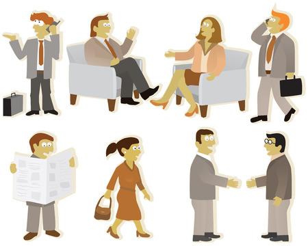 mensen groep: Mensen groep kantoor
