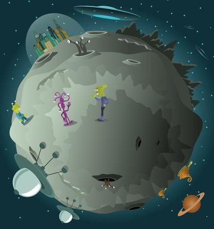 colonisation: La colonizzazione del pianeta