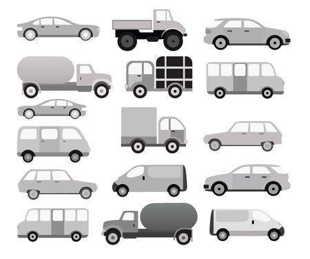Cars collectie zwart wit