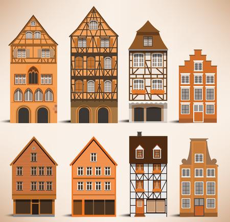 Classic European houses