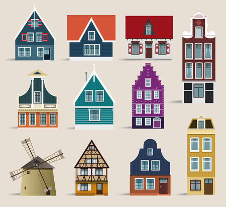 houses: Dutch houses
